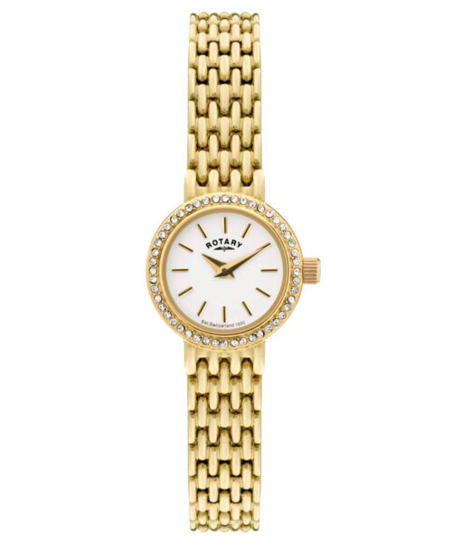 Rotary Ladies Gold Plated Dress Watch LB02835/03