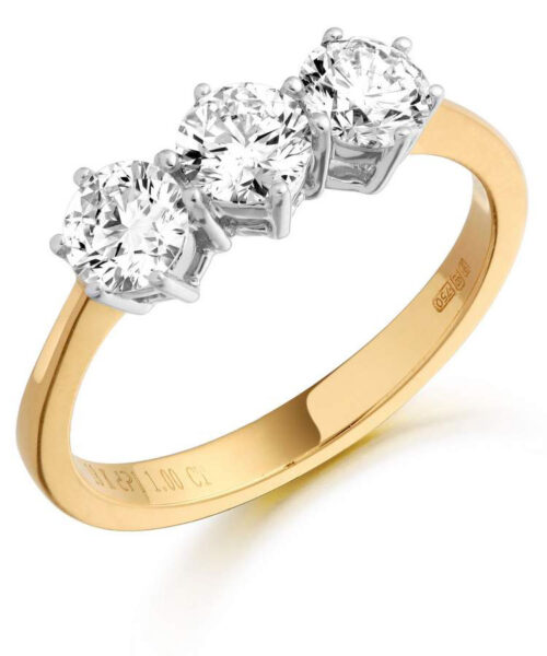 Diamond Engagement Ring - MC299