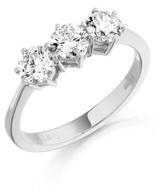 Diamond Engagement Ring - MC299W